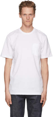 A.P.C. White Double T-Shirt