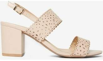 Dorothy Perkins Womens Blush 'Sugar' Lazer Cut Sandals