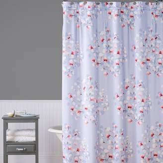Saturday Knight Ltd. Saturday Knight, Ltd. Lillian Floral Toss Shower Curtain