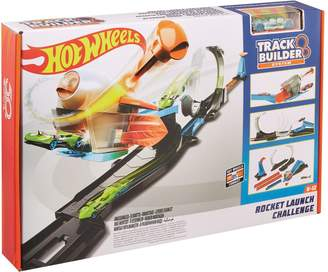 Hot Wheels Track Builder Rocket Launch Challenge Play Set