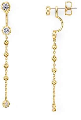 Nadri Linear Front-Back Earrings