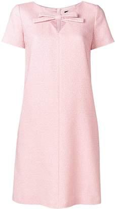 Paule Ka bow detail dress