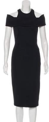Cushnie et Ochs Off-The-Shoulder Cocktail Dress