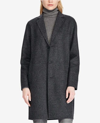Polo Ralph Lauren (ポロ ラルフ ローレン) - Polo Ralph Lauren Plaid Trench Coat