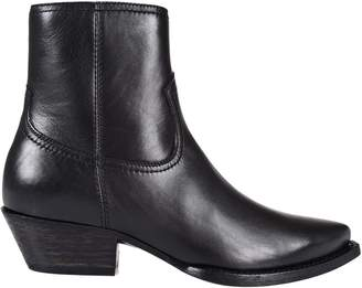 Saint Laurent Texan Ankle Boots
