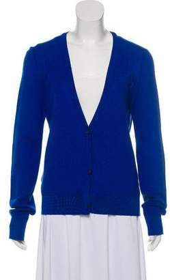 Calvin Klein Collection Knit Button-Up Cardigan