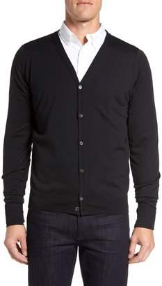 John Smedley 'Bryn' Easy Fit Wool Button Cardigan