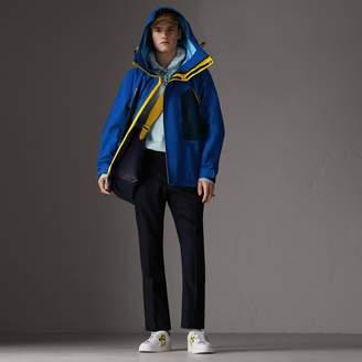 Burberry Tri-tone Nylon Hooded Jacket