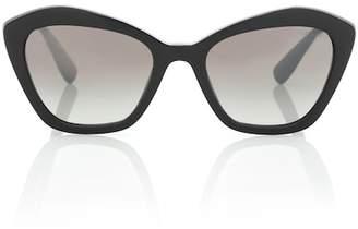 Miu Miu Cat-eye acetate sunglasses