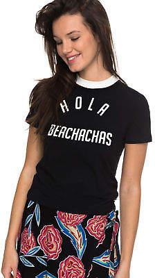 Roxy NEW ROXYTM Womens Volcano Sense Hola Beachachas T Shirt Womens Tops