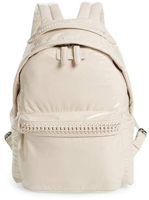 Stella McCartney Monochrome Hard Nylon Backpack