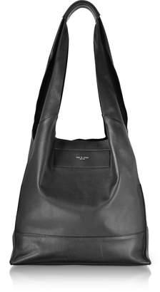 Rag & Bone Black Leather Walker Shopper Tote Bag