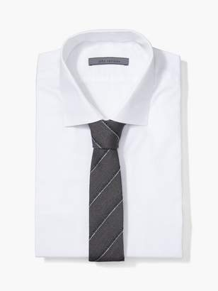 John Varvatos Skinny Striped Tie