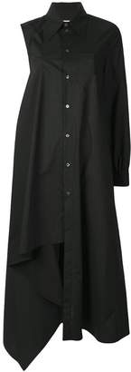 MM6 MAISON MARGIELA asymmetric shirt dress