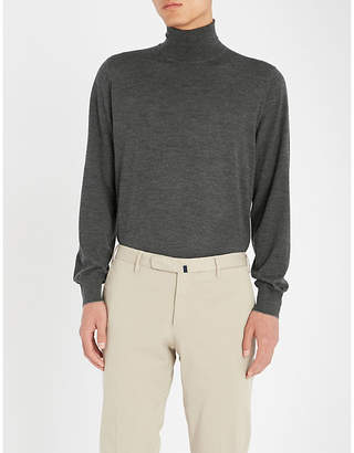 Brunello Cucinelli Turtleneck wool and cashmere-blend jumper