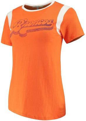 Retro Sport Unbranded Women's Junk Food Orange/White Denver Broncos T-Shirt