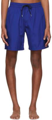 Burberry Blue Guildes Logo Swim Shorts