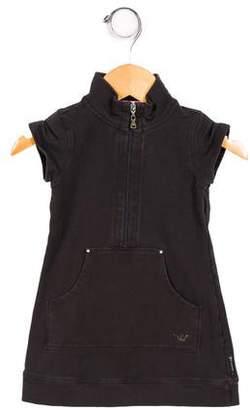 Armani Junior Girls' Sleeveless Knit Dress