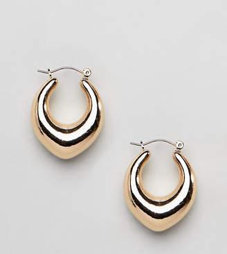 Liars & Lovers Gold Teardrop Hoop Earrings