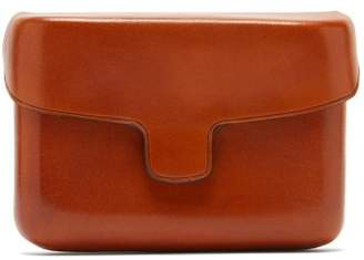 Lemaire Vegetable Tanned Leather Cardholder - Womens - Tan