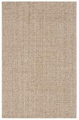 Pottery Barn Chunky Wool & Jute Rug - Natural
