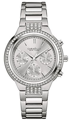 Bulova Women's Quartz Stainless Steel Casual Watch, Color:Silver-Toned (Model: 43L186) $125 thestylecure.com