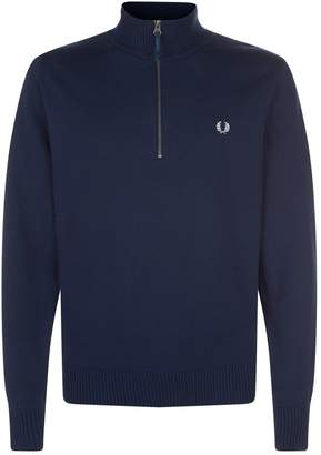 Fred Perry Half Zip Knitted Sweater