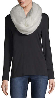 MIXIT Mixit Lurex Infinity Cold Weather Scarf