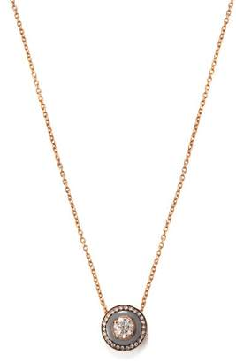 Selim Mouzannar - Mina 18kt Rose Gold And Diamond Necklace - Womens - Grey