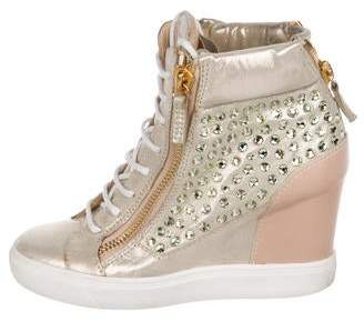 015257b3f64 Giuseppe Zanotti Wedge Sneakers - ShopStyle