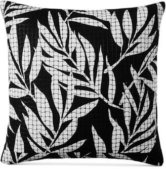 """Charter Club Damask Designs Palm 110-Thread Count 20"""" x 20"""" Decorative Pillow, Created for Macy's Bedding"""