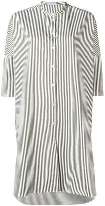 Harris Wharf London striped shirt dress