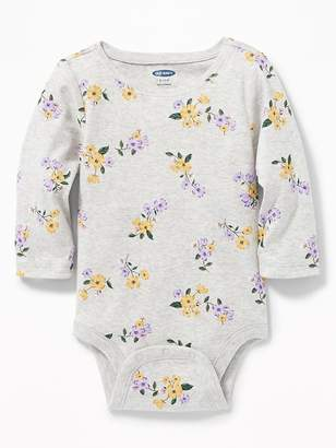 Old Navy Printed Crew-Neck Bodysuit for Baby