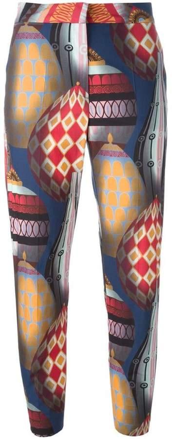 MSGM ballon print trousers