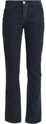 Current/Elliott Current/Elliot + Charlotte Gainsbourg +charlotte Gainsbourg Cotton-Corduroy Straight-Leg Pants