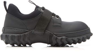 Marni Leather Rubber And Mesh Sneakers
