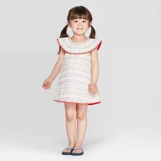 Cat & Jack Toddler Girls' Cover-Up Dress White