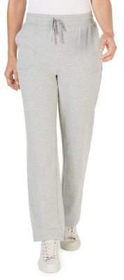 Karen Scott Petite Drawstring Straight-Leg Relaxed-Fit Pants