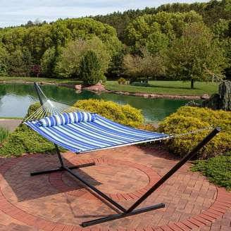 Freeport Park Halie Polyester Hammock with Stand