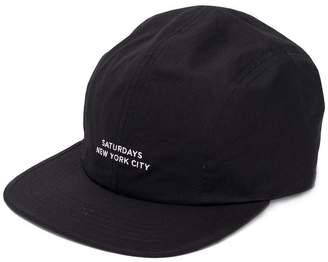 Saturdays NYC logo embroidered baseball cap