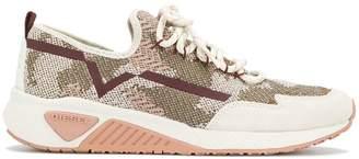 Diesel laced running sneakers