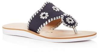 257ba5e3e69 Free Shipping  150+ at Bloomingdale s · Jack Rogers Women s Captiva Demi  Wedge Thong Sandals