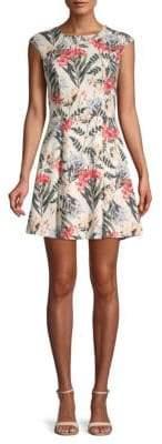 Style Stalker Valerie Printed A-Line Dress