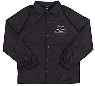 Poler Unisex-Adult's Venn Coaches Jacket-blk-s
