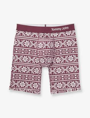 Tommy John Tommyjohn Cool Cotton Nordic Print Boxer Brief