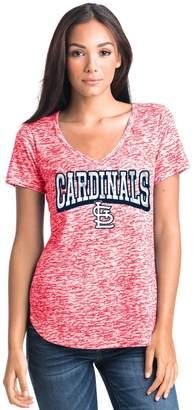 Women's St. Louis Cardinals Burnout Tee