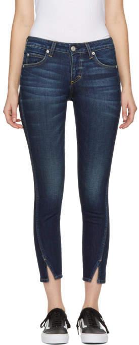 Blue Twist Jeans