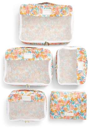 CalPak x Oh Joy! Set of 5 Packing Cubes