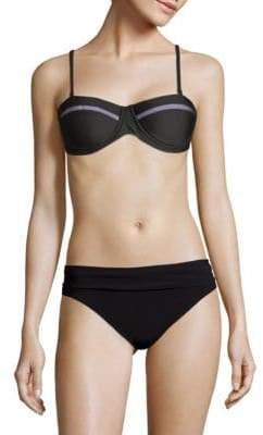 6 Shore Road Chloe Mesh Bandeau Bikini Top