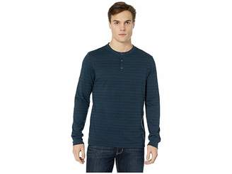 Threads 4 Thought Tri-Blend Dirt Road Stripe Long Sleeve Henley